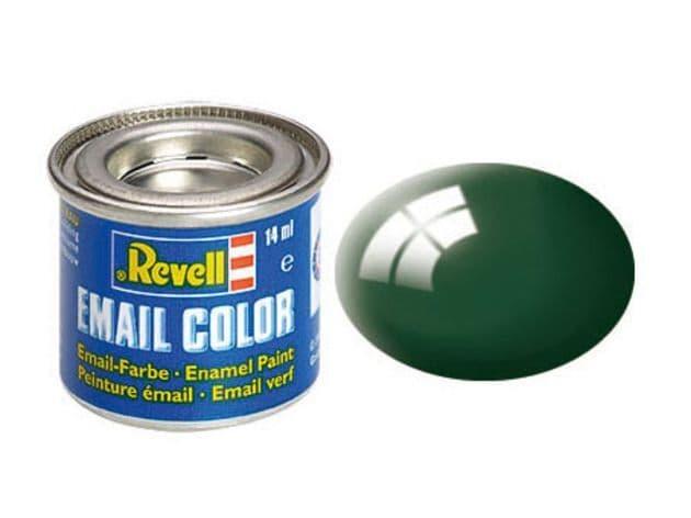 Revell 14ml Moss Green Gloss enamel paint # 62