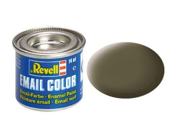 Revell 14ml Nato-Olive mattt enamel paint # 46