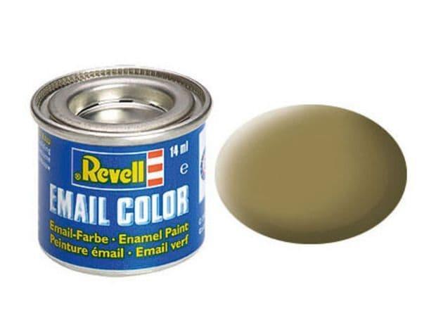 Revell 14ml Olive Brown mattt enamel paint # 86