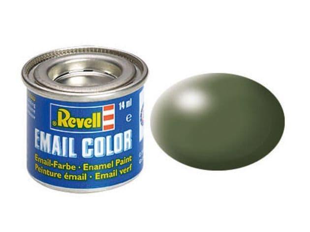 Revell 14ml Olive Green Silk enamel paint # 361