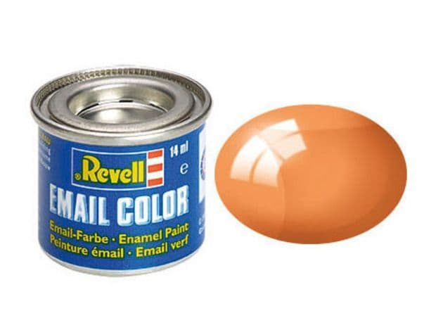 Revell 14ml Orange Clear enamel paint # 730