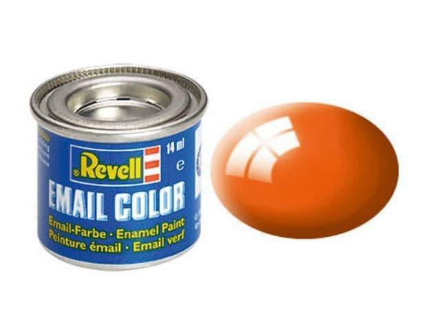 Revell 14ml Orange Gloss enamel paint # 30