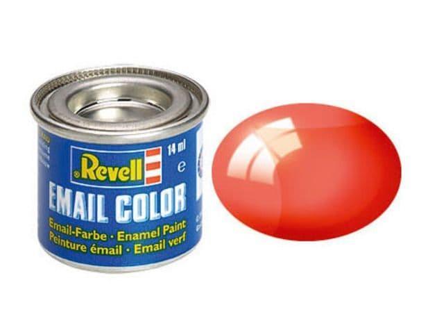 Revell 14ml Red Clear enamel paint # 731