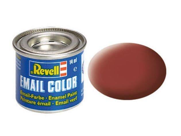 Revell 14ml Reddish Brown mattt enamel paint # 37