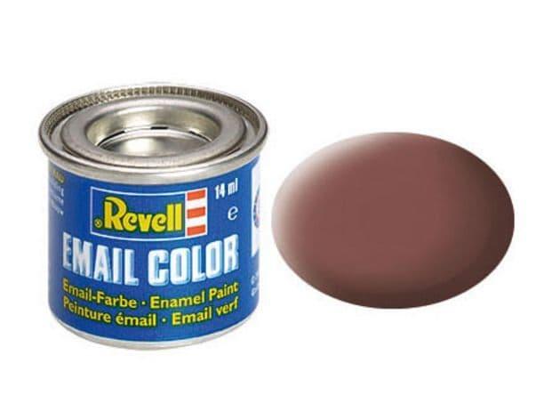 Revell 14ml Rust mattt enamel paint # 83