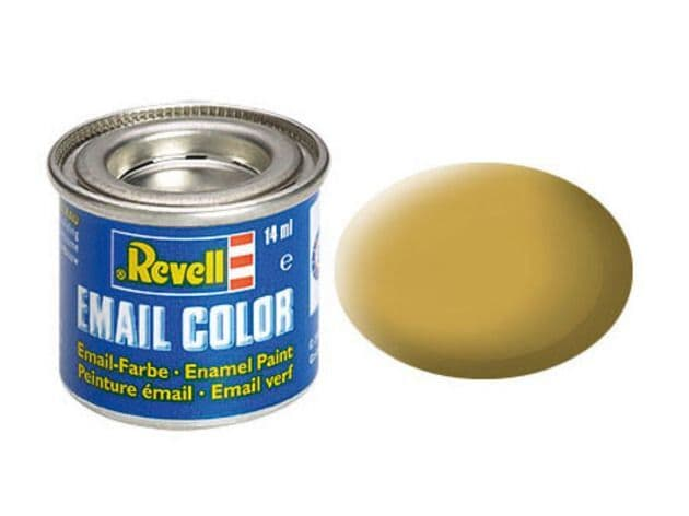 Revell 14ml Sandy Yellow mattt enamel paint # 16
