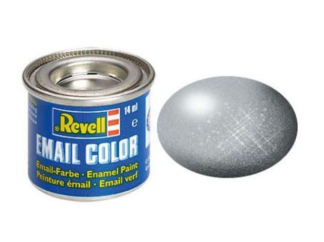 Revell 14ml Silver Metallic enamel paint # 90