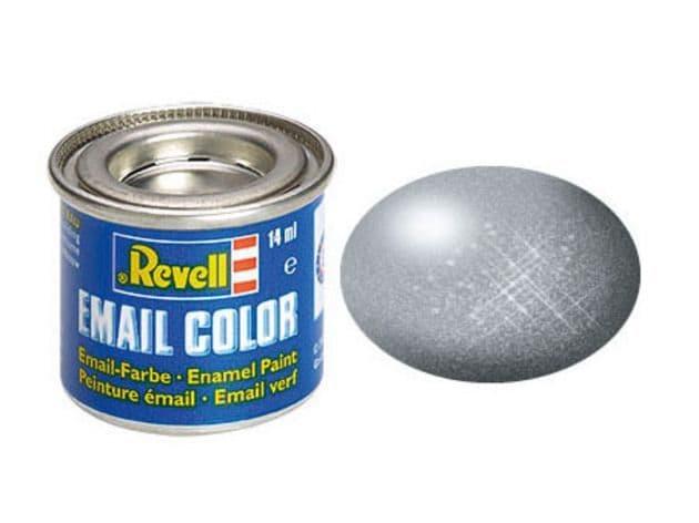 Revell 14ml Steel Metallic enamel paint # 91