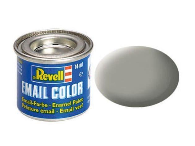 Revell 14ml Stone Grey mattt enamel paint # 75
