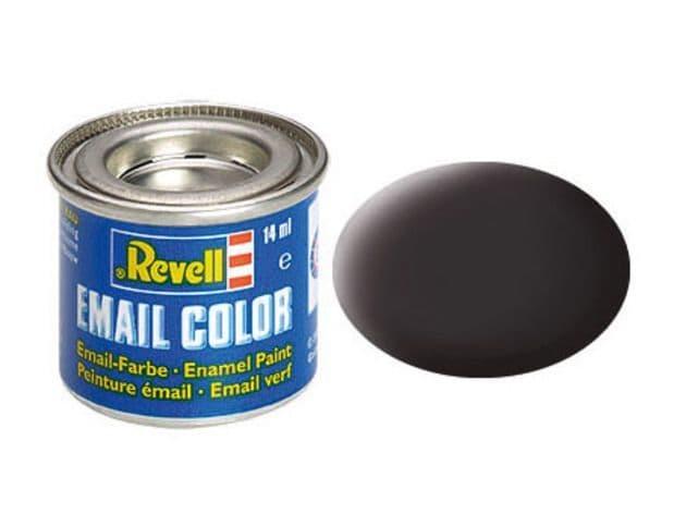 Revell 14ml Tar Black mattt enamel paint # 6