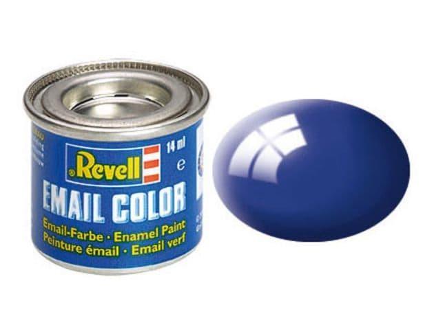 Revell 14ml Ultramarine-Blue Gloss enamel paint # 51