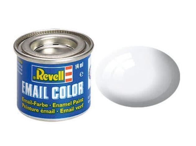 Revell 14ml White Gloss enamel paint # 4