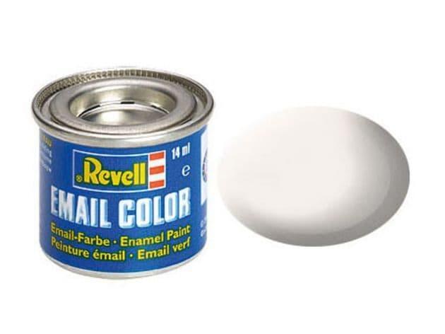 Revell 14ml White mattt enamel paint # 5