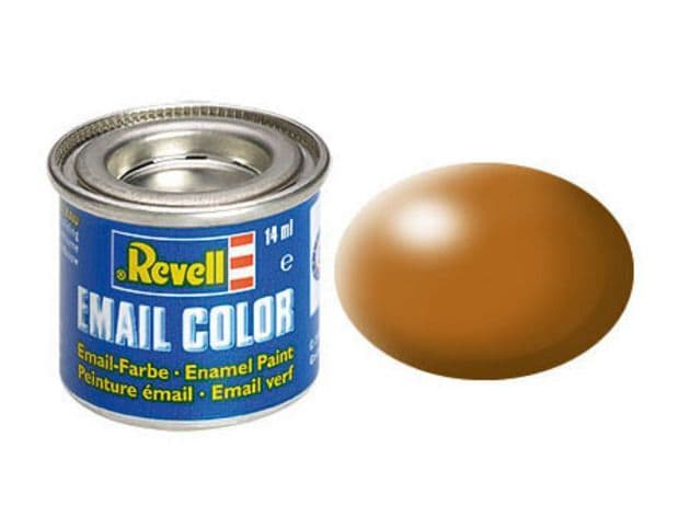 Revell 14ml Wood Brown Silk enamel paint # 382