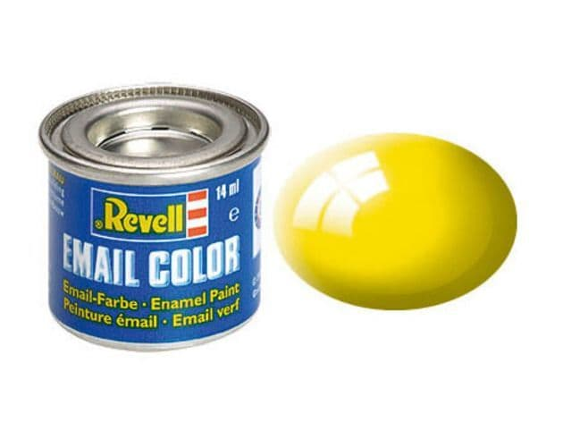 Revell 14ml Yellow Gloss enamel paint # 12