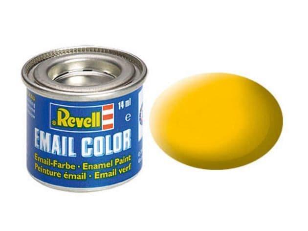 Revell 14ml Yellow mattt enamel paint # 15