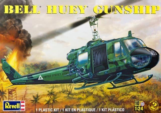 Revell Monogram 1/24 Bell Huey Gunship # 85-5633