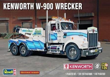 Revell Monogram 1/25 Kenworth W-900 Wrecker # 85-2510