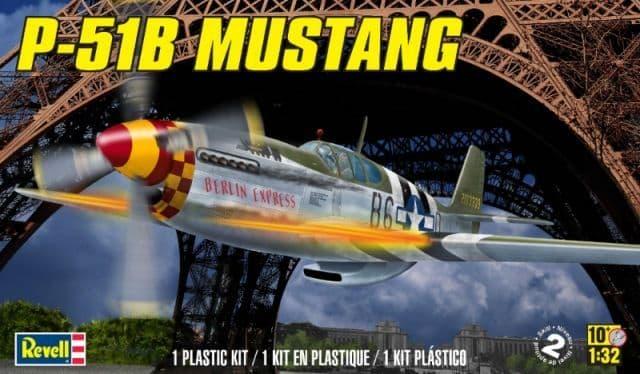 Revell Monogram 1/32 P-51B Mustang # 85-5535