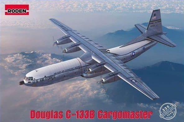 Roden 1/144 Douglas C-133B Cargomaster # 335