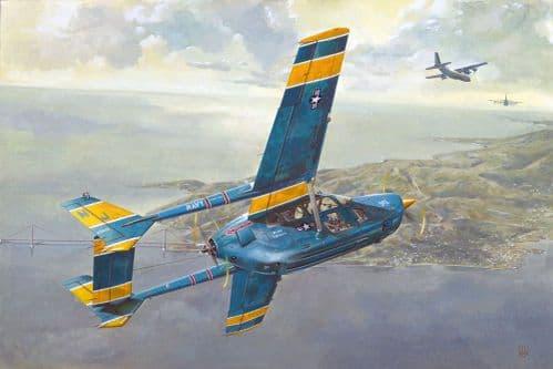 Roden 1/32 Cessna O-2A Skymaster U.S. Navy Service # 632