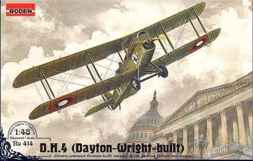 Roden 1/48 D.H. 4 (Dayton-Wright Built) # 414