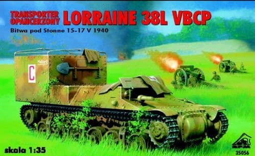 RPM 1/35 Armored Tractor Lorraine 38L VBCP - Stonne 1940 # 35056