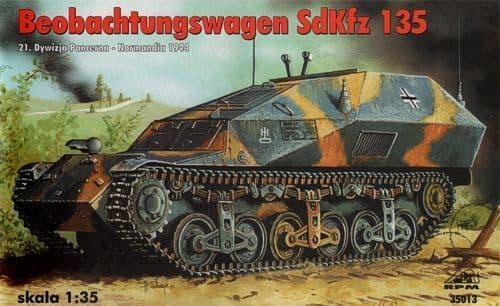 RPM 1/35 Beobachtungswagen Sd.Kfz.135 # 35013