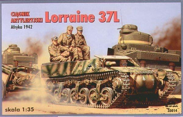 RPM 1/35 Lorraine 37L Schlepper Armoured Tractor # 35014