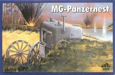 RPM 1/35 MG-Panzernest # 35018