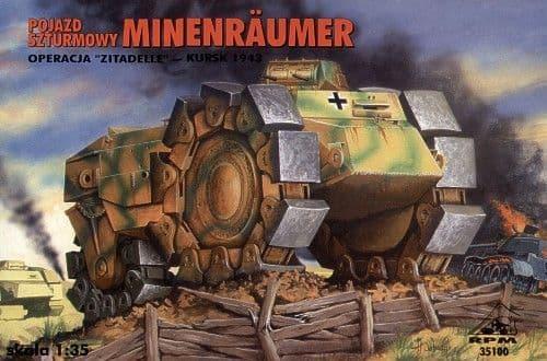 RPM 1/35 Pojazd Szturmowy Minenraumer # 35100