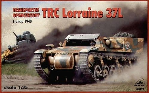 RPM 1/35 Transporter TRC Lorraine 37L France 1940 (French Version) # 35052