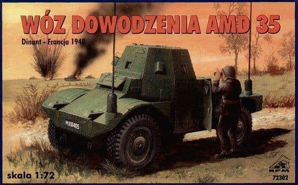 RPM 1/72 AMD35 Command Radio Vehicle # 72302