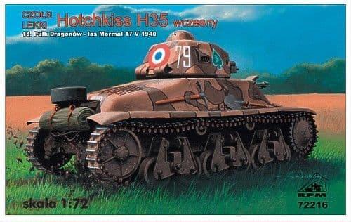 RPM 1/72 Hotchkiss H35 # 72216
