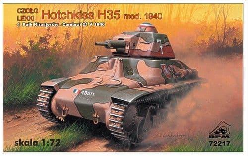RPM 1/72 Hotchkiss H35 Model 1940 # 72217