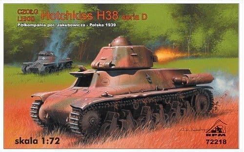 RPM 1/72 Hotchkiss H38 Series D # 72218