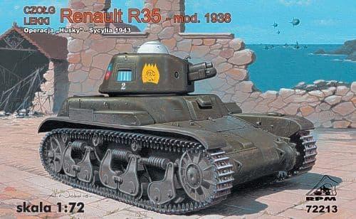 RPM 1/72 Renault R35 Mod. 1938 # 72213