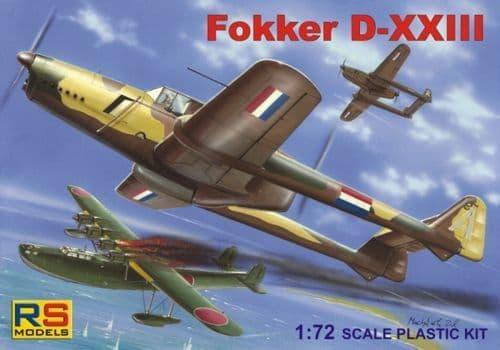 RS Models 1/72 Fokker D-XXIII # 92081