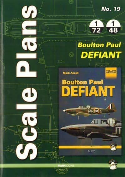 Scale Plans Boulton-Paul Defiant Mk.I