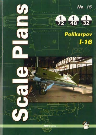 Scale plans for Polikarpov I-16