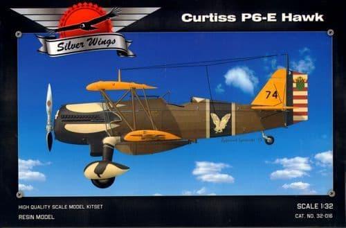 Silver Wings 1/32 Curtiss P-6E Hawk # 32016