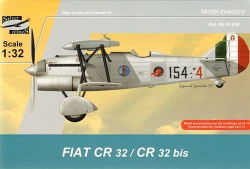 Silver Wings 1/32 Fiat CR.32/CR.32bis # 32005