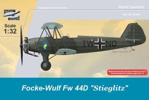 Silver Wings 1/32 Focke Wulf Fw44D Stieglitz # 32003
