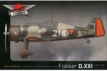 Silver Wings 1/32 Fokker D.XXI # 32017