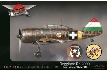 Silver Wings 1/32 Reggiane Re.2000 Heja/J20 # 32020