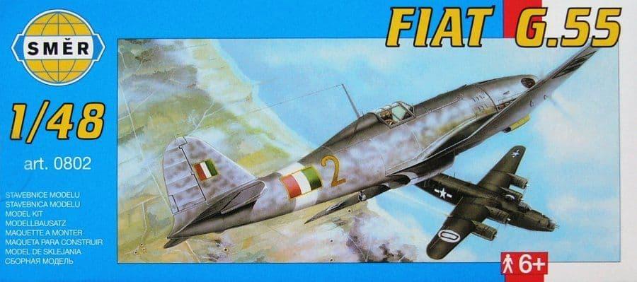 Smer 1/48 Fiat G.55 # 0802