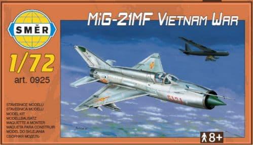 Smer 1/72 Mikoyan MiG-21MF 'Vietnam War' # 72925