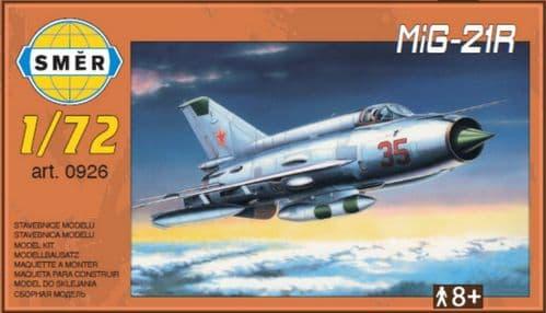 Smer 1/72 Mikoyan MiG-21R 'Recce' # 72926