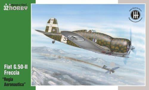 "Special Hobby 1/32 Fiat G.50-II ""Regia Aeronautica"" # 32061"
