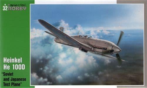 Special Hobby 1/32 Heinkel He100D IJN & Soviet Test Flight # 32045